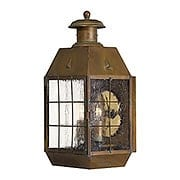 Nantucket Large Porch Light With Clear Seedy Glass (item #RS-03HK-2374AS)
