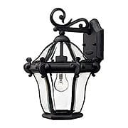 San Clemente Small Exterior Sconce In Museum Black (item #RS-03HK-2440MB)