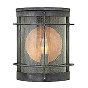 Newport 1-Light Exterior Wall Sconce (item #RS-03HK-2620DZ)