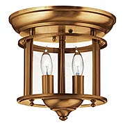 Gentry Flush Mount Ceiling Fixture With 2 Lights (item #RS-03HK-3472X)