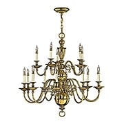Cambridge Two Tier Chandelier With 15 Lights (item #RS-03HK-4417X)