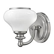 Ainsley 1-Light Bath Sconce (item #RS-03HK-56550BNX)