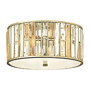 Gemma Flush-Mount Ceiling Light (item #RS-03HK-FR33731SLF)
