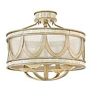 Sirena Semi Flush-Mount Ceiling Light (item #RS-03HK-FR48053X)