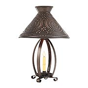 Betsy Ross Lamp with Chisel Design (item #RS-03IW-628CLPBTX)