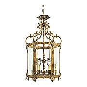 Venetian Premium 10 Light Pendant In Antique Bronze Finish (item #RS-03ML-N2345)