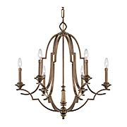 Leicester 6-Light Chandelier (item #RS-03ML-N6947-575)