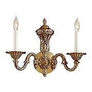 English Georgian Sconce In Antique Classic Brass Finish (item #RS-03ML-N700202)