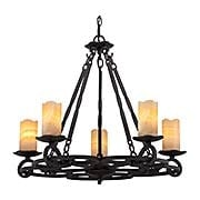 Armelle 5-Light Chandelier (item #RS-03QZ-AME5005IB)