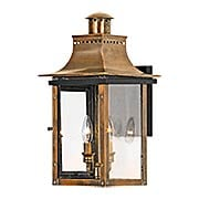 Chalmers Medium Wall Lantern In Aged Copper (item #RS-03QZ-CM8410AC)
