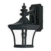 Devon Small Wall Lantern In Bronze Finish (item #RS-03QZ-DE8407X)