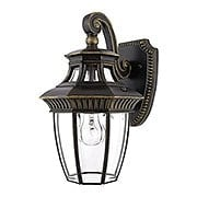Georgetown Small Wall Lantern in Imperial Bronze (item #RS-03QZ-GT8980IB)