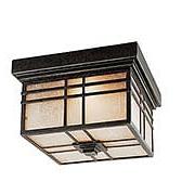 Hillcrest Flush Mount Ceiling Light in Imperial Bronze (item #RS-03QZ-HC1612IB)