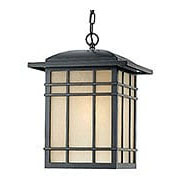 Hillcrest Large Hanging Lantern in Imperial Bronze (item #RS-03QZ-HC1913IB)
