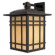 Hillcrest Large Wall Lantern In Imperial Bronze (item #RS-03QZ-HC8411X)