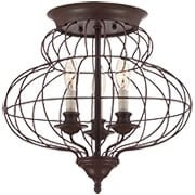 Laila Flush-Mount Ceiling Light (item #RS-03QZ-LLA1615RA)