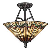 Alcott Semi-Flush Mount Ceiling Light (item #RS-03QZ-TFAT1716VA)