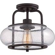 Trilogy Semi-Flush Mount Ceiling Light (item #RS-03QZ-TRG1712X)