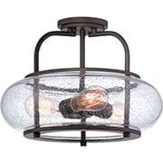 Trilogy Semi-Flush Mount 3-Light Ceiling Light (item #RS-03QZ-TRG1716X)