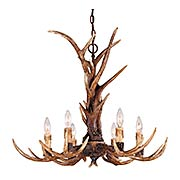 Blue Ridge 6 Light Chandelier in New Tortoise Shell (item #RS-03SHL-1-40017-6-56)