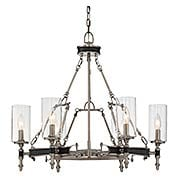 Gramercy 6-Light Chandelier (item #RS-03SHL-1-5040-6X)