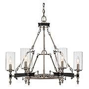 Gramercy 6-Light Chandelier (item #RS-03SHL-1-5040-6X)