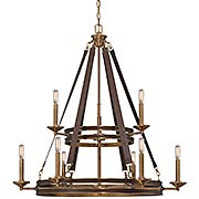 Harrington 9-Light Chandelier (item #RS-03SHL-1-613-9-50)