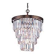 Tierney 4-Light Chandelier (item #RS-03SHL-1-9805-4X)