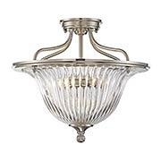 Aberdeen Semi Flush-Mount Ceiling Light (item #RS-03SHL-6-151-3X)