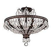 Sheraton Semi-Flush Ceiling Light (item #RS-03SHL-6-372-5-56)