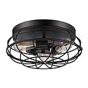 Scout Flush-Mount Ceiling Light (item #RS-03SHL-6-8074-15X)