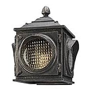 Main Street Small 1-Light Exterior Wall Sconce (item #RS-03TL-B4501X)