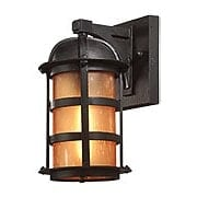 Aspen Small Outdoor Light in Natural Bronze (item #RS-03TL-B9250X)