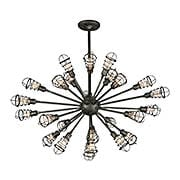 Conduit 25-Light Chandelier (item #RS-03TL-F3816X)