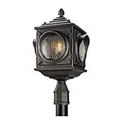 Main Street Exterior Post Light (item #RS-03TL-P4505X)