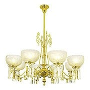 "Richmond 8 Light Chandelier With 4"" Fitters (item #RS-03VL-C106G8CX)"