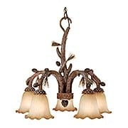 Aspen 5-Light Chandelier (item #RS-03VX-AS-CHD005PT)