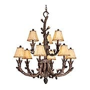 Aspen 9-Light Chandelier (item #RS-03VX-AS-CHS009PT)