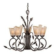 Capri 6-Light Chandelier (item #RS-03VX-CP-CHB006BW)