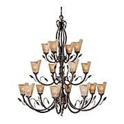 Capri 16-Light Chandelier (item #RS-03VX-CP-CHU016BW)