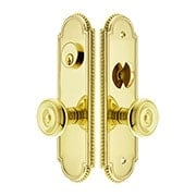 Hamilton Mortise Lock Entry Set with Waverly Knobs (item #RS-05EM-3504-WX)