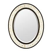 Monterey Mosaic Oval Wall-Mount Mirror (item #RS-07QZ-MY430242ML)