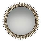 Talon Wall-Mount Mirror in Century Silver Leaf (item #RS-07QZ-QR2056)