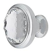 Legacy Crystal Round Knob (item #RS-08AHW-343X)