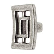 Canton Cabinet Knob with Choice of Finish (item #RS-08CL-200125X)