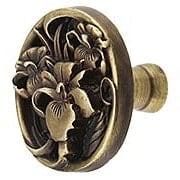 River Iris Cabinet Knob (item #RS-08NH-NHK-128X)