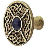 Celtic Jewel Knob Inset with Blue Sodalite (item #RS-08NH-NHK-158-BSX)