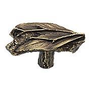 Leafy Twig Cabinet Knob (item #RS-08NH-NHK-172X)