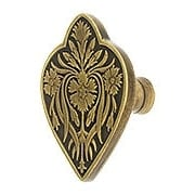 Dianthus Cabinet Knob - 1 7/8