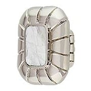 Rectangular Cabinet Knob with Mother-of-Pearl (item #RS-08SCH-851-MOP-PN)